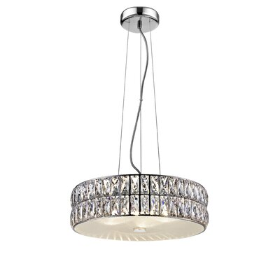 Rolston 1-Light LED Drum Pendant
