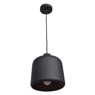 Dennis Square 1-Light Inverted Pendant