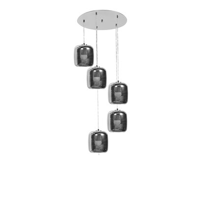 Devereau 5-Light Cascade Pendant