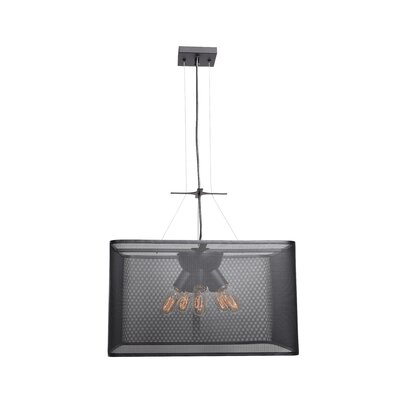 Lacey Square 5-Light 60W Drum Pendant