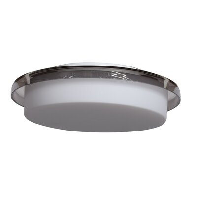 Devere 1-Light Flush Mount