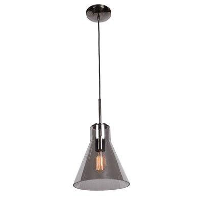 Sullivan Street 1-Light 60W Mini Pendant Size: 10.13 H x 9.1 W x 9.1 D