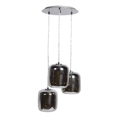 Devereau 3-Light Cascade Pendant