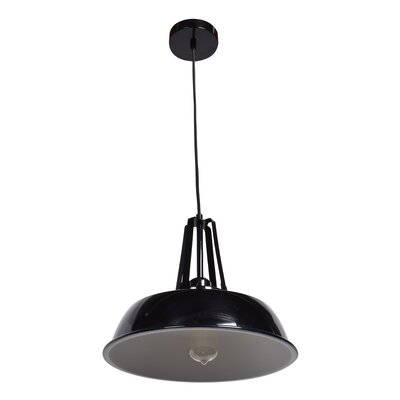 Dennis 1-Light Inverted Pendant