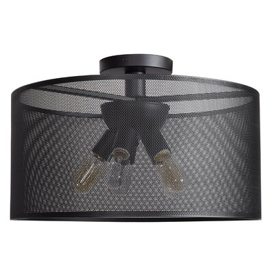 Lacey 5-Light Semi Flush Mount Size: 12 H x 23.6 W x 23.6 D