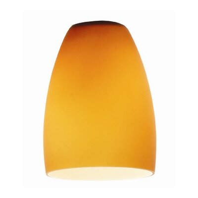 4.5 Glass Bowl Pendant Shade Glass Color: Amber