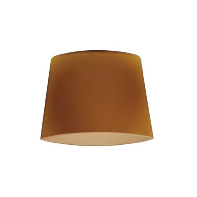 6  Glass Empire Lamp Shade Glass Color: Amber
