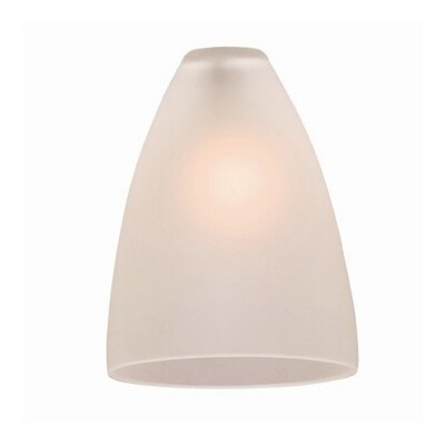 4 Glass Oval Pendant Shade Finish: Frost