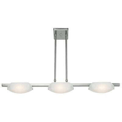 Nido 3-Light Convertible Pendant Finish: Matte Chrome