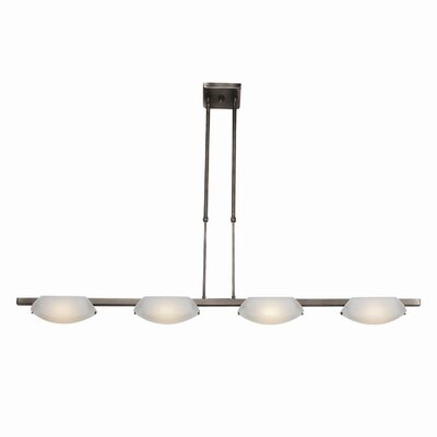 Nido 4-Light Convertible Pendant Finish: Matte Chrome