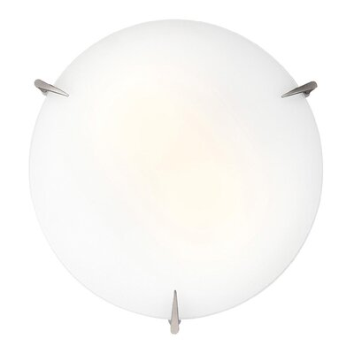 Zenon Flush Mount Size: 3.5 H x 12 Diameter