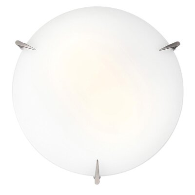 Herlinda Flush Mount Size: 3.75 H x 16 Diameter