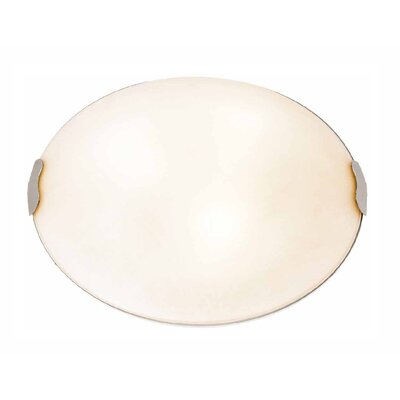 Linen Flush Mount Size: 4.75 H x 15 Diameter