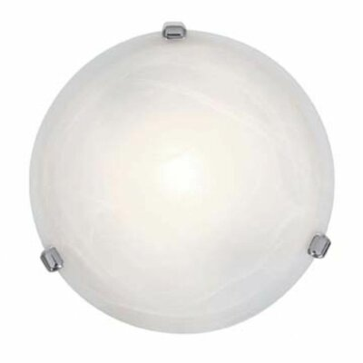 Nimbus 1-Light Flush Mount Finish: Chrome, Size: 4 H x 12.5 Diameter
