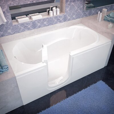 Ashton 60 x 30 Walk-In Bathtub Drain Location: Right