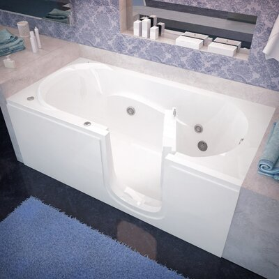 Stream 60 x 30 Walk-In Whirlpool Drain Location: Right