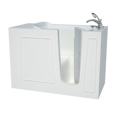 Captains Series 53 x 26 Soaking Bathtub Drain Location: Right