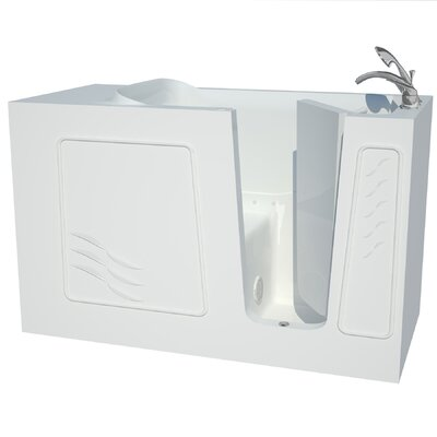 Captains Series 60 x 30 Air Jetted Bathtub Drain Location: Right