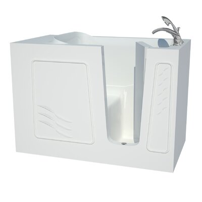 Captains Series 53 x 30 Soaking Bathtub Drain Location: Right
