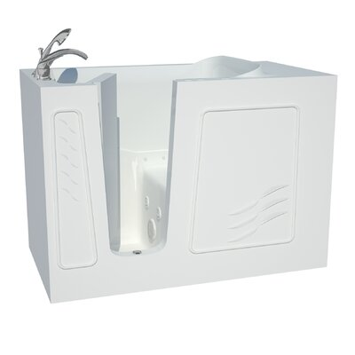 Captains Series 53 x 30 Dual Whirlpool & Air Bathtub Drain Location: Left