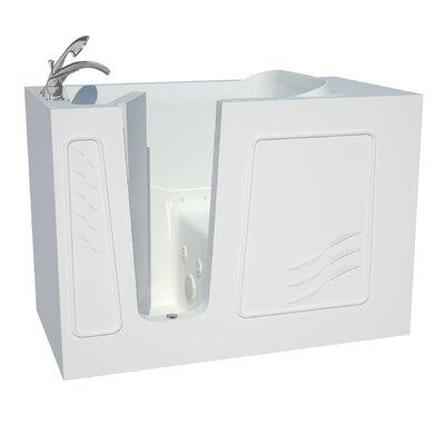 Captains Series 53 x 30 Dual Whirlpool & Air Bathtub Drain Location: Left