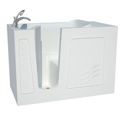 Captains Series 53 x 30 Soaking Bathtub Drain Location: Left