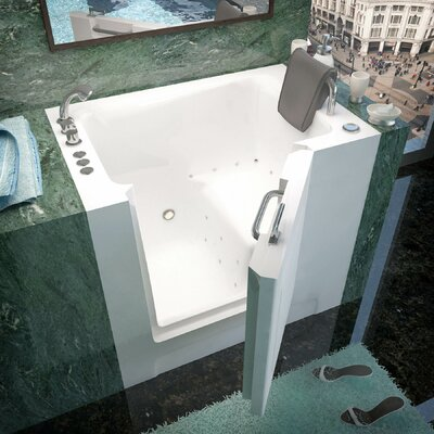 Catalina 39 x 27 Walk-In Air Jetted Bathtub Drain Location: Left