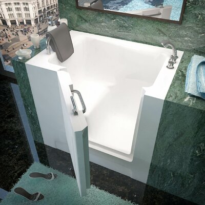 Catalina 39 x 27 Soaking Bathtub Drain Location: Right