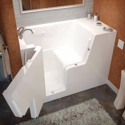 Mohave 53 x 29 Walk-In Bathtub Drain Location: Left