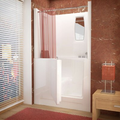 Telluride 47 X 27 Walk-In Bathtub Drain Location: Right
