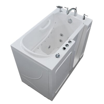 Prairie 46 x 26 Walk In Air/Whirlpool Bathtub