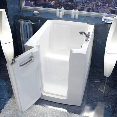 Durango 32 x 38 Soaking Bathtub Drain Location: Right