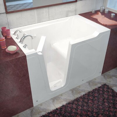 Crescendo 60 x 36 Walk-In Bathtub Drain Location: Left