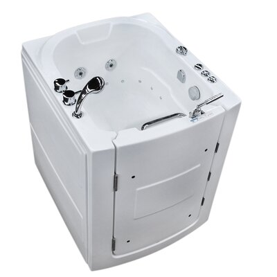 Durango 38 x 32 Walk-In Air and Whirlpool Jetted Bathtub Drain Location: Right