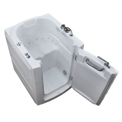 Durango 32 x 37.2 Air Jetted Bathtub Drain Location: Right