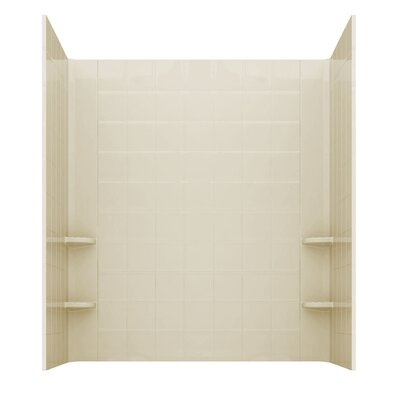 Prairie Thermalpeutic Heated 46 x 26 Walk In Soaking Bathtub Color: Biscuit, Drain Location: Right