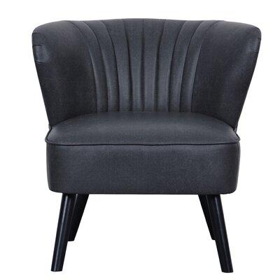 Crossroads Slipper Chair Upholstery: Steel