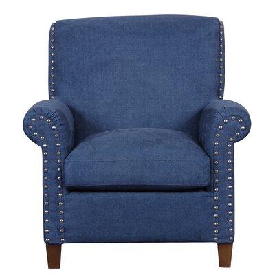 Charlotte Armchair Upholstery: Denim