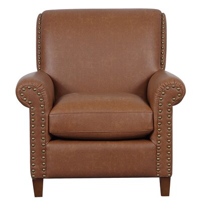 Charlotte Armchair Upholstery: Cognac