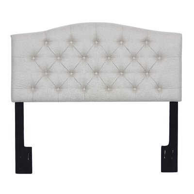 Carolina Upholstered Panel Headboard Size: Queen, Upholstery: Linen
