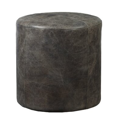 Kick Up Your Heels Leather Ottoman