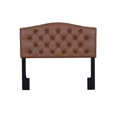 Carolina Upholstered Panel Headboard Size: Queen
