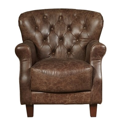 Chief Leather Accent Chair