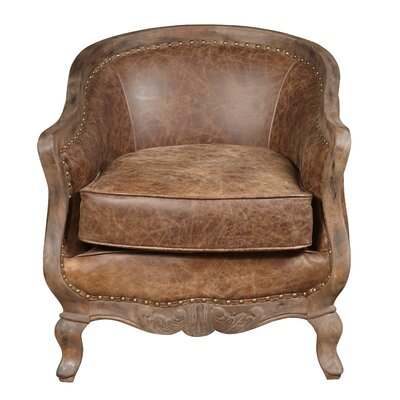 Newton Leather Accent Chair