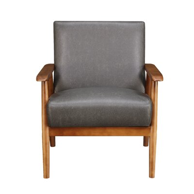 Barlow Armchair Upholstery: Steel