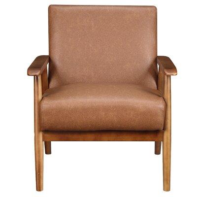 Barlow Armchair Upholstery: Cognac