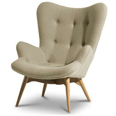 Hennis Lounge Chair Color: Taupe