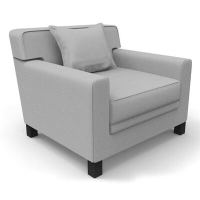 Hennings Armchair Color: Gray
