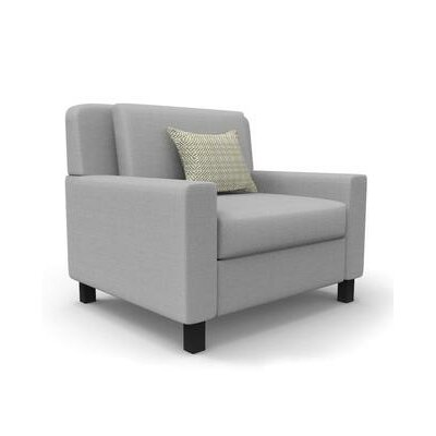 Hensel Wingback Chair Upholstery: Gray