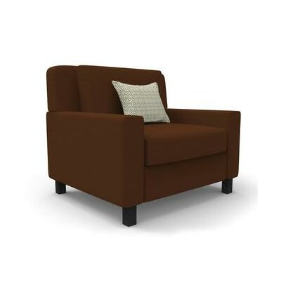Hensel Wingback Chair Upholstery: Brown